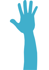 mano azul