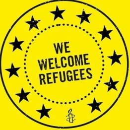 we welcome refugees-AI