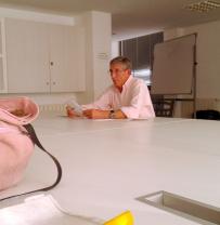 Ángel Munio explicando CastroVerde
