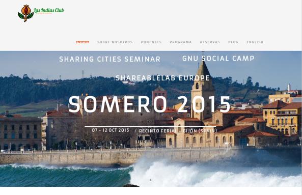 Página de inicio de Somero2015