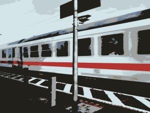 Tren pasando
